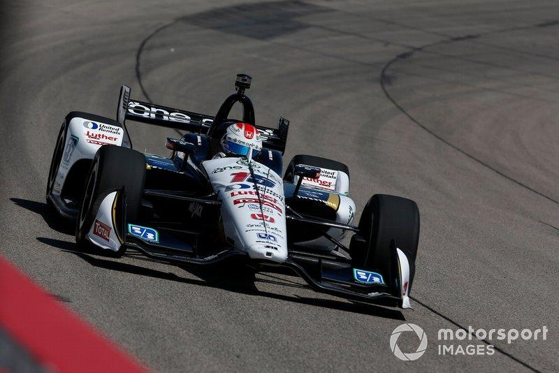 8. Graham Rahal, Rahal Letterman Lanigan Racing Honda
