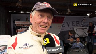 Gijs van Lennep interview Historic Grand Prix Zandvoort