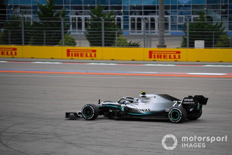 Valtteri Bottas, Mercedes AMG W10, va largo
