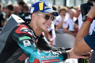 Secondo classificato Fabio Quartararo, Petronas Yamaha SRT