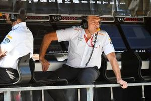 Paul James, Team Manager, McLaren