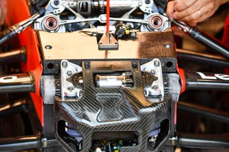 Suspension details of the Ferrari SF90