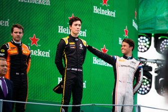 Jack Aitken, Campos Racing Nyck De Vries, ART Grand Prix and Jordan King, MP Motorsport