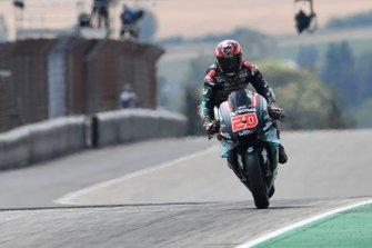Fabio Quartararo, Petronas Yamaha SRT, Braking