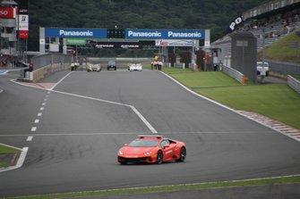 Start der Lamborghini Super Trofeo Asia 2019 in Fuji