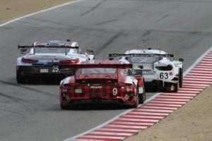 #9 PFAFF Motorsports Porsche 911 GT3 R, GTD: Scott Hargrove, Zacharie Robichon, #63 Scuderia Corsa Ferrari 488 GT3, GTD: Cooper MacNeil, Toni Vilander, #25 BMW Team RLL BMW M8 GTE, GTLM: Tom Blomqvist, Connor De Phillippi