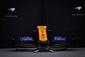 El morro del McLaren