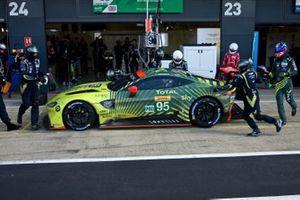 Марко Сёренсен и Ники Тим, Aston Martin Racing, Aston Martin Vantage AMR (№95)