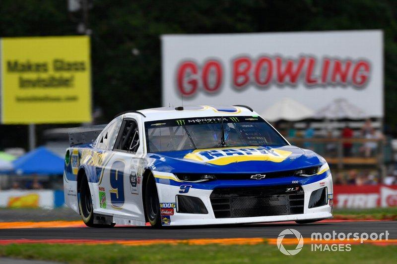 1. Chase Elliott, Hendrick Motorsports, Chevrolet Camaro