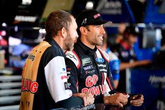 Aric Almirola, Stewart-Haas Racing, Ford Mustang Go Bowling
