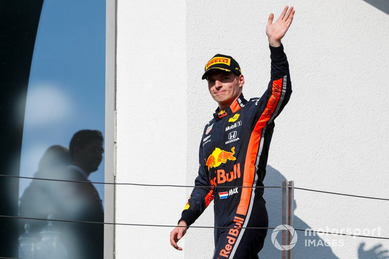 Max Verstappen, Red Bull Racing: 5 dobogó