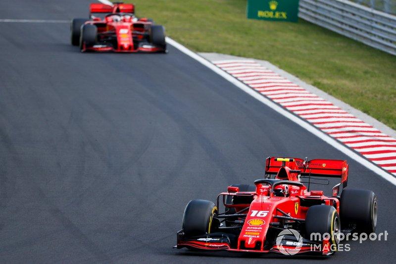 Briga Vettel X Leclerc – Charles Leclerc tirou Sebastian Vettel da zona de conforto que tinha com Kimi Raikkonen na Ferrari, até o fim do ano passado.