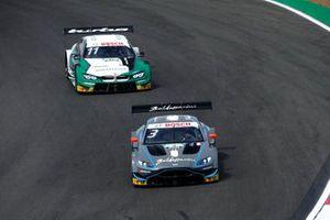 Пол ди Реста, R-Motorsport, Aston Martin Vantage AMR, и Марко Виттман, BMW Team RMG, BMW M4 DTM