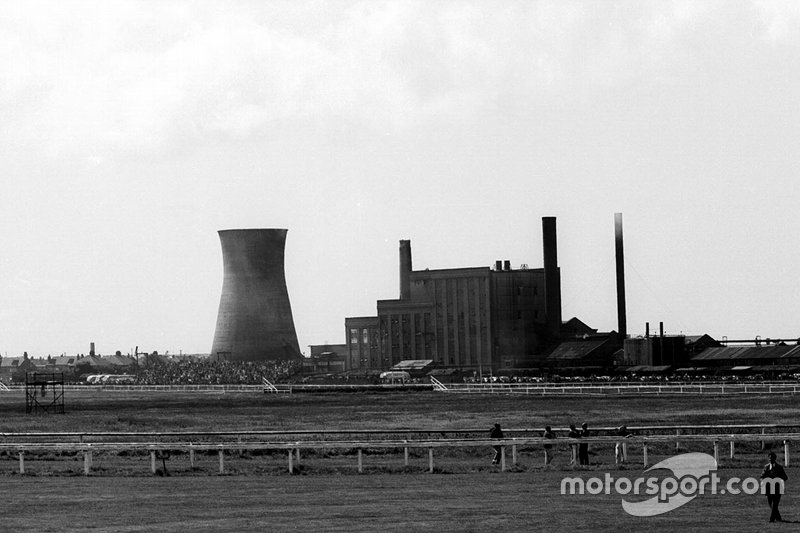 Aintree Circuit with power station and a legendary horse racing circuit
