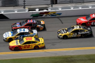 Michael McDowell, Front Row Motorsports, Ford Mustang Long John Silver's, Joey Logano, Team Penske, Ford Mustang Shell Pennzoil, Clint Bowyer, Stewart-Haas Racing, Ford Mustang Mobil 1 / Rush Truck Centers, Aric Almirola, Stewart-Haas Racing, Ford Mustang Smithfield Anytime Favorites