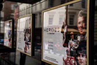 Heroes film premier poster