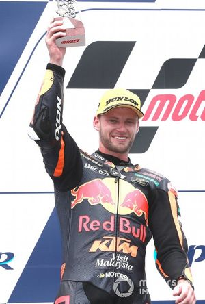 Secondo classifiocato Brad Binder, KTM Ajo