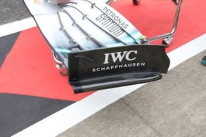 Mercedes AMG F1 W10, detail front wing