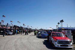 Área de garaje de NASCAR Trucks