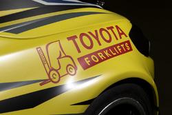 Das Fahrzeug von Lee Holdsworth, Team 18 Holden