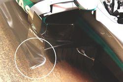 Detail Vertikale Leitplatten, Mercedes AMG F1 W07 Hybrid