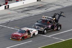 Chase Elliott, JR Motorsports Chevrolet without gas