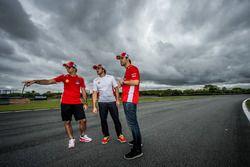 Átila Abreu, Nelson Piquet Jr. with Rodolpho Mattheis
