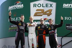 #73 Park Place Motorsports Porsche GT3 R : Patrick Lindsey, Matt McMurry, Jörg Bergmeister, Norbert Siedler