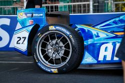 Detail of Amlin Andretti Autosport Formula E Team Car