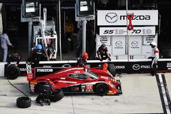 #55 Mazda Motorsports Mazda Prototype : Spencer Pigot, Jonathan Bomarito, Tristan Nunez