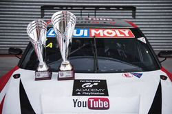 Second place #1 Nissan Motorsports Nissan GT-R Nismo GT3