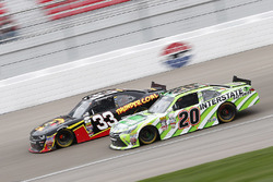 Brandon Jones, Richard Childress Racing Chevrolet; Erik Jones, Joe Gibbs Racing Toyota