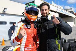 Il vincitore Leonardo Pulcini, Campos Racing