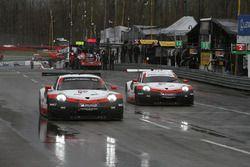 #912 Porsche Team North America Porsche 911 RSR, GTLM: Laurens Vanthoor, Earl Bamber #911 Porsche Team North America Porsche 911 RSR, GTLM: Patrick Pilet, Nick Tandy