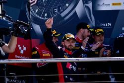 Podium: #2 Belgian Audi Club Team WRT Audi R8 LMS: Will Stevens
