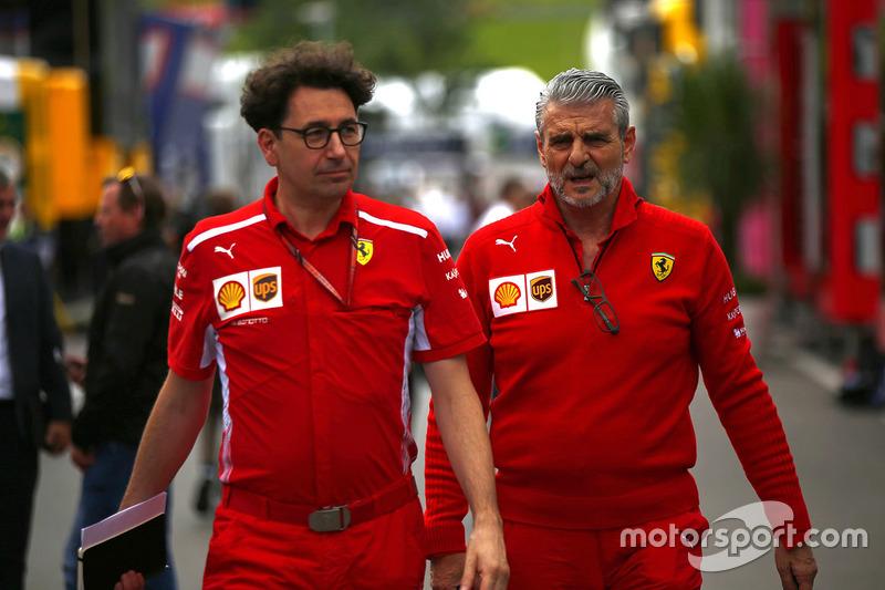 Mattia Binotto, Ferrari, Maurizio Arrivabene