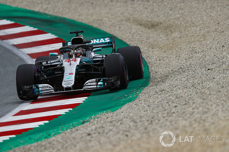 2. Льюис Хэмилтон, Mercedes AMG F1 W09