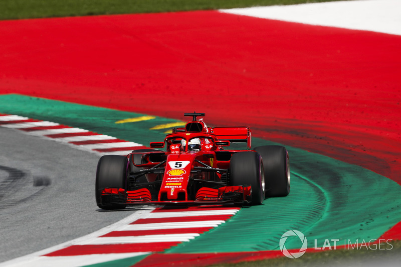 Derde plaats: Sebastian Vettel