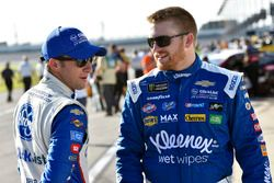 Chris Buescher, JTG Daugherty Racing, Chevrolet Camaro Kleenex Wet Wipes and A.J. Allmendinger, JTG Daugherty Racing, Chevrolet Camaro Kroger ClickList