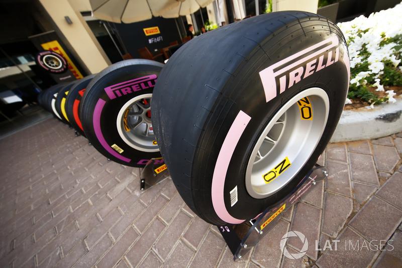2018 Pirelli F1 lastikleri