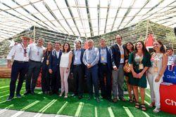 Alejandro Agag, CEO de Fórmula E en la Ceremonia de Apertura del stand de E-Village de Ciudad de Chi