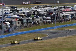 #3 Corvette Racing Chevrolet Corvette C7.R, GTLM: Antonio Garcia, Jan Magnussen, Mike Rockenfeller, #4 Corvette Racing Chevrolet Corvette C7.R, GTLM: Oliver Gavin, Tommy Milner, Marcel Fassler