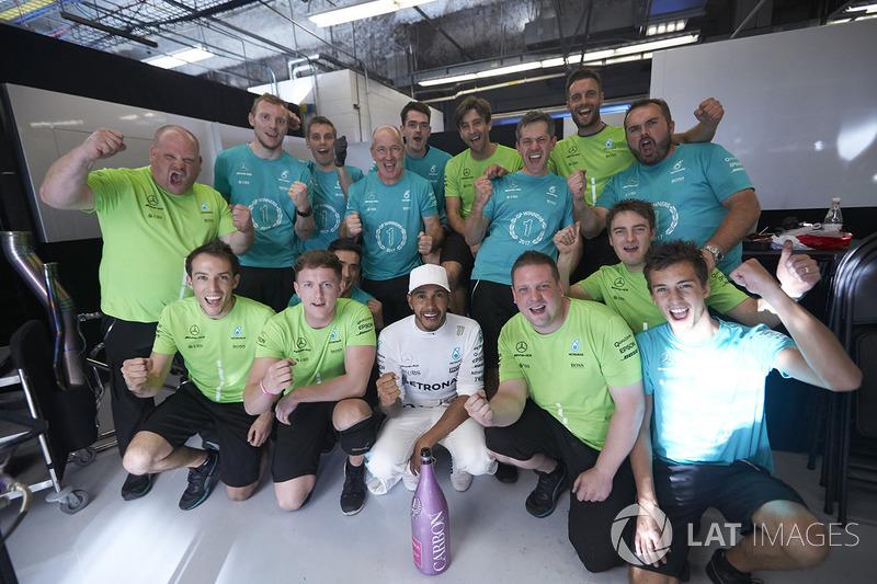 Lewis Hamilton, Mercedes AMG F1 en Estados Unidos 2017