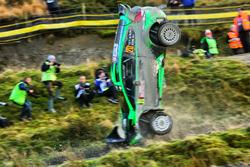 Crash of Yazeed Al Rajhi, Michael Orr, Yazeed Racing Ford Fiesta RS WRC