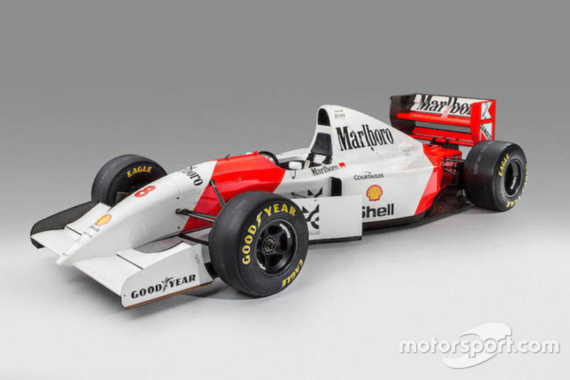 1993 McLaren-Cosworth Ford MP4/8A - Ayrton Senna