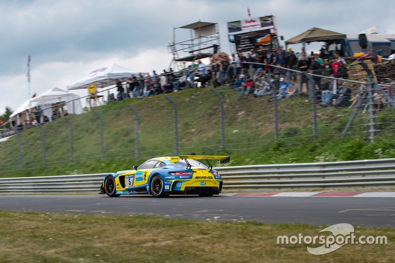 #5 Mercedes-AMG Team Black Falcon Mercedes-AMG GT3: Yelmer Buurman, Thomas Jäger, Jan Seyffarth, Luca Stolz