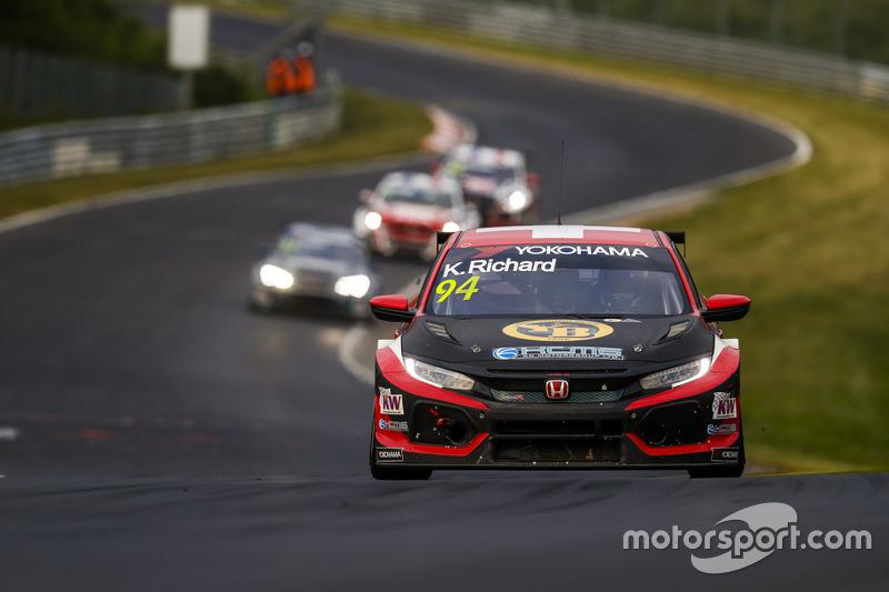 Kris Richard, KCMG Honda Civic Type R TCR