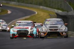 Gordon Shedden, Audi Sport Leopard Lukoil Team Audi RS 3 LMS, Pepe Oriola, Team Oscaro by Campos Racing Cupra TCR