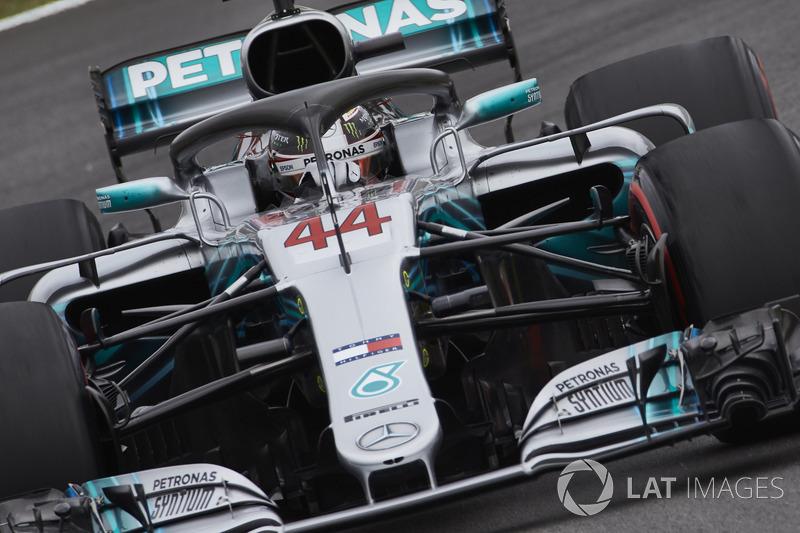 Хэмилтон завоевал 74-й поул в своей карьере и четвертый – на трассе в Барселоне. Рекордсменом по этому показателю является Михаэль Шумахер с 6-ю поулами на Гран При Испании. Для команды Mercedes это 90-й поул в истории, а для моторов этой марки – 173-й