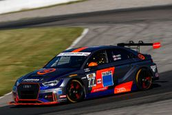 #77 Compass Racing, Audi RS3 LMS TCR, TCR: Britt Casey Jr, Tom Long